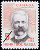 Titre original :  Henri Bourassa, 1868-1952 [document philatélique].  Philatelic issue data Canada : 5 cents Date of issue 4 septembre 1968
